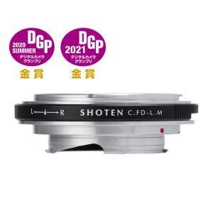 SHOTEN CFD-LM(キヤノンFDマウントレンズ → ライカMマウント変換)マウントアダプター|stkb