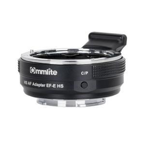 Commlite CM-EF-E HS 電子マウントアダプター(キヤノンEFマウントレンズ → ソニーEマウント変換) stkb