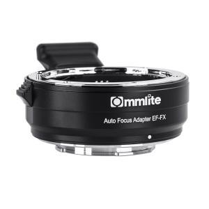 Commlite CM-EF-FX 電子マウントアダプター(キヤノンEFマウントレンズ → 富士フイルムXマウント変換) stkb