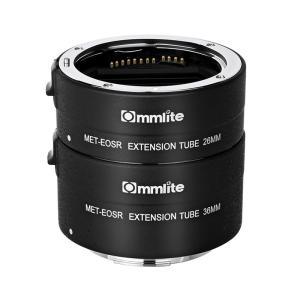 Commlite CM-MET-EOS R エクステンションチューブ(キヤノンRFマウント)電子接点付き stkb
