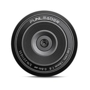 FUNLEADER CAPLENS 18mm f/8.0(ソニーEマウント) stkb
