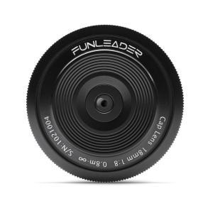 FUNLEADER CAPLENS 18mm f/8.0 (Lマウント(バヨネット)) stkb