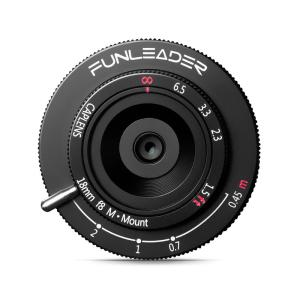 FUNLEADER CAPLENS 18mm f/8.0 M (ライカMマウント)(ブラック) stkb