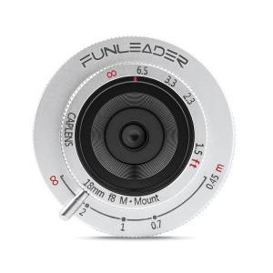 FUNLEADER CAPLENS 18mm f/8.0 M (ライカMマウント)(シルバー) stkb