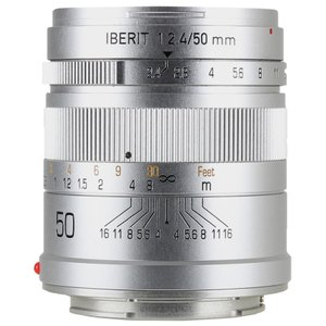HandeVision IBERIT(イベリット) 50mm f/2.4 For SONY E (ソニーEマウント) シルバー|stkb