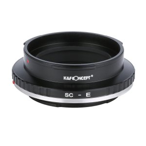 K&F Concept KF-CNRFE マウントアダプター(旧コンタックスC・ニコンSマウント(外爪)レンズ → ソニーEマウント変換)|stkb