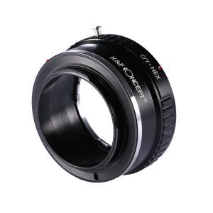 K&F Concept レンズマウントアダプター KF-CYE (ヤシカ・コンタックスマウントレンズ → ソニーEマウント変換) stkb 04