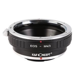 K&F Concept レンズマウントアダプター KF-EFM43 (キャノンEFマウントレンズ → マイクロフォーサーズマウント変換)|stkb