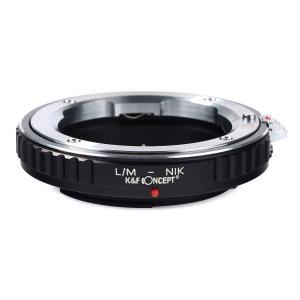 K&F Concept レンズマウントアダプター KF-LMF (ライカMマウントレンズ → ニコンFマウント変換)近接撮影専用|stkb