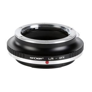 K&F Concept レンズマウントアダプター KF-LRG (ライカRマウントレンズ → 富士フィルムGFX Gマウント変換)|stkb