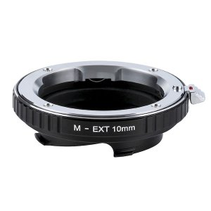 K&F Concept レンズマウントアダプター KF-MM10 (ライカMマウント接写リング) 10mm stkb