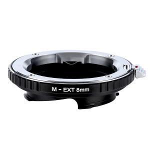 K&F Concept レンズマウントアダプター KF-MM8 (ライカMマウント接写リング) 8mm stkb