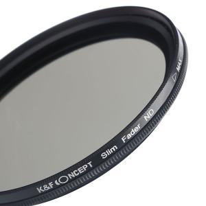 K&F Concept 可変式NDフィルター 67mm NDX 減光範囲ND2~ND400 薄枠設計 KF-NDX67|stkb|04