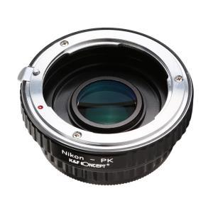 K&F Concept レンズマウントアダプター KF-NFK (ニコンFマウントレンズ → ペンタックスKマウント変換)|stkb