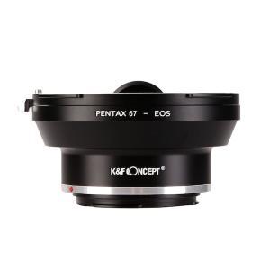 K&F Concept レンズマウントアダプター KF-P67EF (ペンタックス67マウントレンズ → キャノンEFマウント変換)|stkb|04