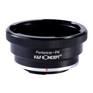 K&F Concept レンズマウントアダプター KF-P6K60K (ペンタコンシックス│キエフ60マウントレンズ → ペンタックスKマウント変換)|stkb