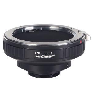 K&F Concept レンズマウントアダプター KF-PKC (ペンタックスKマウントレンズ → Cマウント変換)|stkb