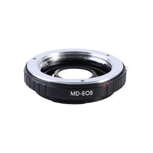K&F Concept レンズマウントアダプター KF-SREF-E (ミノルタMD・MC│SRマウントレンズ → キャノンEFマウント変換)無限遠補正レンズ、電子接点付き|stkb