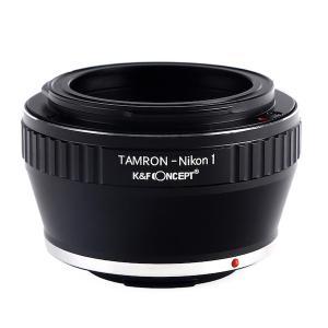K&F Concept レンズマウントアダプター KF-TRN1 (タムロンアダプトールマウントレンズ → ニコン1マウント変換) stkb