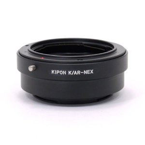 KIPON AR-S/E  (AR-NEX) コニカARマウントレンズ - ソニー NEX/α.Eマウントアダプター|stkb