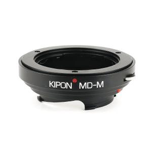 KIPON MD-M ミノルタMD・MC・SRマウントレンズ - ライカMマウントアダプター Typ 240対応可|stkb
