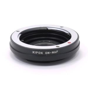 KIPON OM-MAF オリンパスOMマウントレンズ - ソニー・ミノルタαアルファマウントアダプター|stkb