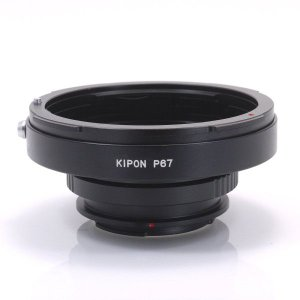KIPON P67-MAF ペンタックス67マウントレンズ - ソニー・ミノルタαアルファマウントアダプター|stkb
