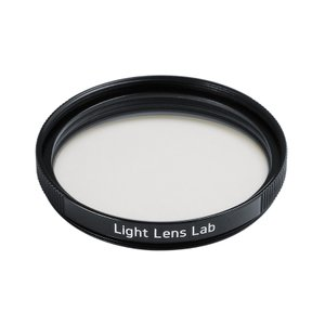 LIGHT LENS LAB E39 UV レンズフィルター 紫外線吸収用 (ブラックペイント)|stkb
