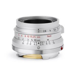 LIGHT LENS LAB M 35mm f/2 ライカMマウント シルバー|stkb