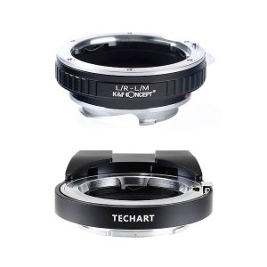 TECHART LM-EA7 + K&F Concept KF-LRM|ライカRレンズ用マウントアダプターセット|stkb