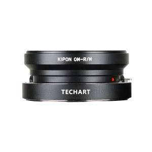 TECHART LM-EA7 + KIPON OM-M オリンパスOMレンズ用マウントアダプターセット stkb