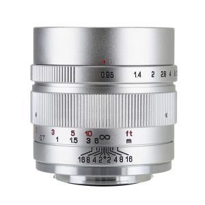 中一光学   ZHONG YI OPTICS SPEEDMASTER 35mm F0.95 II - キヤノンEF-Mマウント 単焦点レンズ シルバー stkb