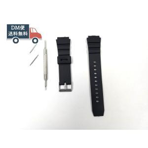 汎用ダイバーズ交換バンド 腕時計ベルト シリコンラバーストラップ G-SHOCK ブラック 18mm
