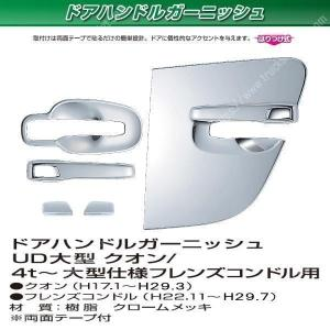 UD 大型 / 4t ドアハンドルガーニッシュ|stn-art-g-1