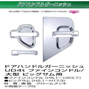 UD 4t / 大型 ドアハンドルガーニッシュ|stn-art-g-1