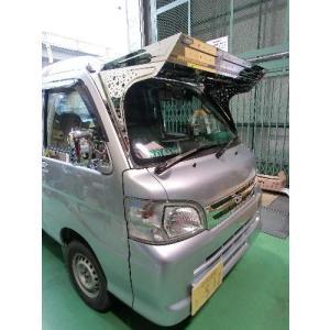 ハイゼット200系 フロントバイザー 桜吹雪仕様 stn-art-g-1