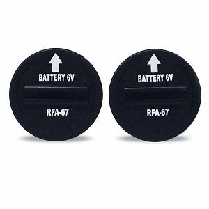 PetSafe バークコントロールデラックス用交換電池 6V交換用バッテリー 2個|stocksquare-plus