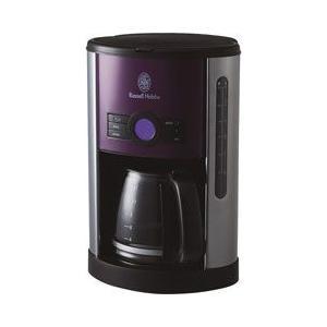 ラッセルホブス ヘリテージ コーヒーメーカー パープル 18499JP|stocksquare-plus