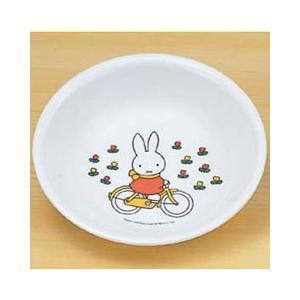 ミッフィー メラミン 子供用 食器/ベビー食器 MIFFY'S BICYCLE 深皿 M-1305-C|stocksquare-plus