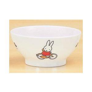ミッフィー メラミン 子供用 食器/ベビー食器 MIFFY'S BICYCLE 飯椀 茶碗 CM-7C|stocksquare-plus