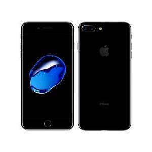 Apple アップル アイフォン au iPhone7 Plus 128GB ジェットブラック MN...