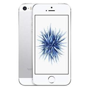 Apple アップル アイフォン au iPhoneSE 16GB シルバー MLLP2J/A A1...
