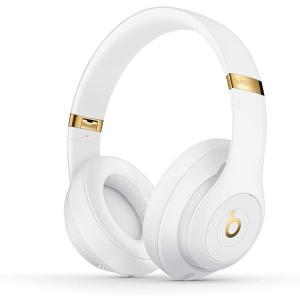Beats by Dr. Dre Beats Studio3 Wireless ビーツ エレクトロニクス ワイヤレス イヤホン ヘッドホン MQ572PA/A ホワイト|stone-gold