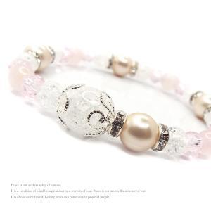 天然石 パワーストーン ブレスレット レディース アクセサリー 限定特価 桜色 spring