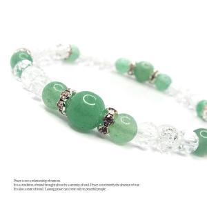 天然石 パワーストーン ブレスレット レディース アクセサリー 手首に咲かせて きらきら Flower アベンチュリン|stone-kitchen