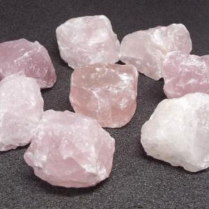 アソート マダカスカル産 天然石 ローズクォーツ 紅水晶 原石 置物 インテリア パワーストーン