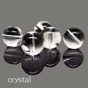 天然石 ビーズ クリスタル 水晶 約8mm 粒売り パワーストーン ハンドメイド アクセサリー stone-kitchen