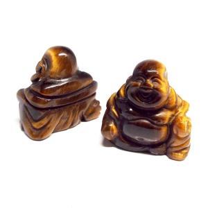 天然石 七福神 布袋 彫刻 置物 タイガーアイ インテリア パワーストーン 天然石