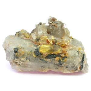 高級一点物 原石 ルチルクォーツクラスター No.3 天然石 パワーストーン※DM便・ネコポス不可※|stonecenter