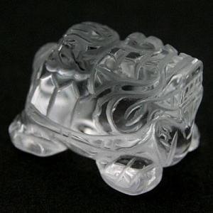 置物 インテリア 彫刻置物 龍亀(ろんぐい) 水晶 天然石 パワーストーン|stonecenter